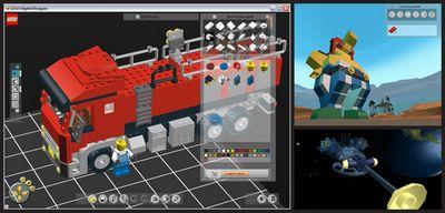 Lego Designer - Программа, позволяющая разрабатывать различные 3D модели с помощью конструктора Lego.